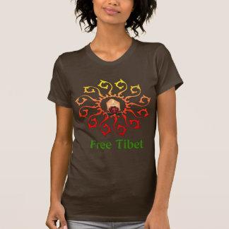 Free Tibet Candle T-Shirt