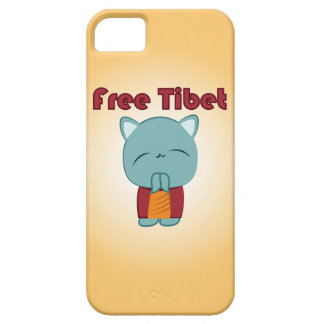 Free Tibet Cute Kitty iPhone Case
