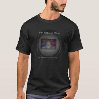 Free Tibet Design Template T-Shirt