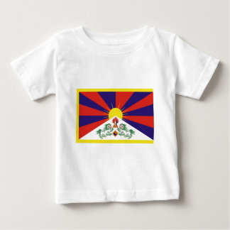 Free Tibet Flag Baby T-Shirt