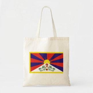 Free Tibet Flag - Peu Rangzen བོད་རང་བཙན་ Tote Bag