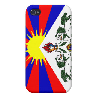 Free Tibet Flag -Tibetan Flag  iPhone 4/4S Cover