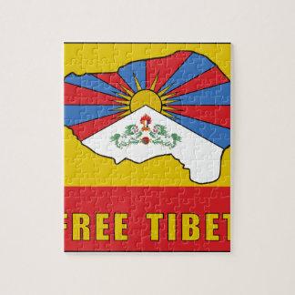 Free Tibet Jigsaw Puzzle