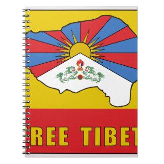 Free Tibet Notebooks