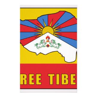 Free Tibet Stationery