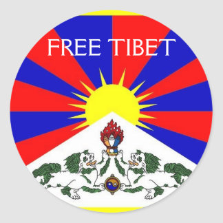 FREE TIBET Sticker Sheet