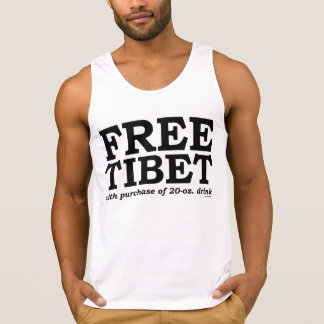 FREE TIBET with purchase of 20-oz. drink Singlet