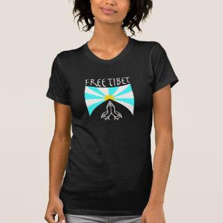 Free Tibet Women s Yoga Shirt