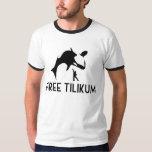 Free Tilikum Save the Orca Killer Whale Tee Shirt
