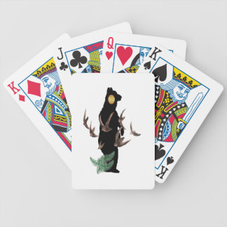 Free to be Wild Bicycle Playing Cards
