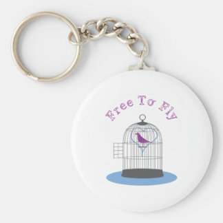 Free To Fly Keychains