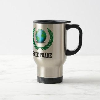 free trade fern travel mug
