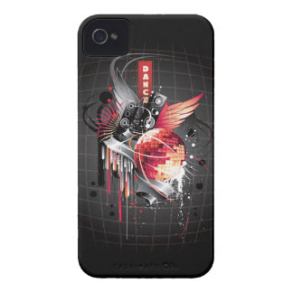 Free Vector Musical Theme Trend iPhone 4 Case-Mate Case