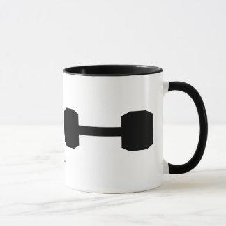 Free weights mug