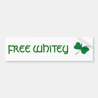 FREE WHITEY BUMPER STICKER