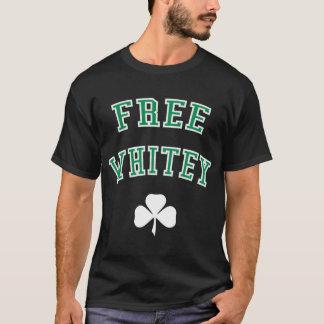 Free Whitey Green & White T-Shirt