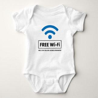 Free Wi-Fi Baby Bodysuit