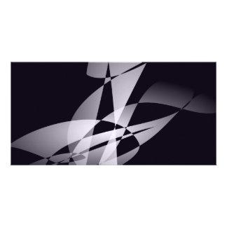 Free Wind Metallic Photo Card