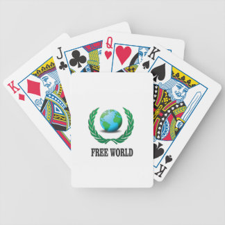 free world baby bicycle playing cards