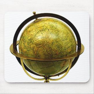 Free world globe mousepads