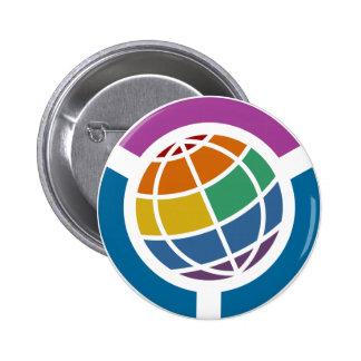 Free World LGBT 6 Cm Round Badge