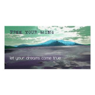Free Your Mind Inspirational Picture Photo Art Photo Cards