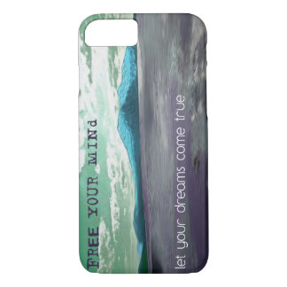 Free Your Mind Inspirational Quote iPhone 7 Cover