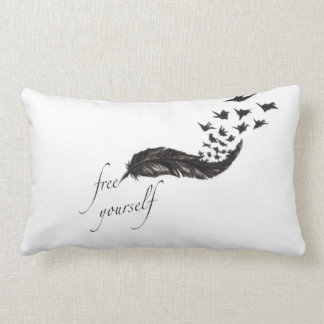 Free Yourself Feather Pillow