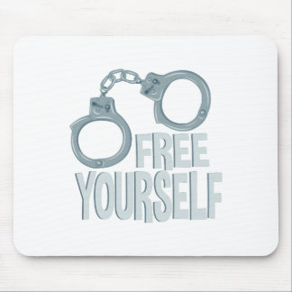 Free Yourself Mouse Pad