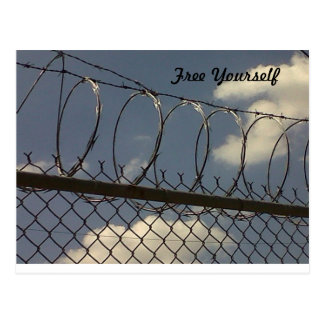 Free Yourself Postcard