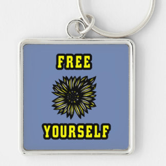 """Free Yourself"" Premium Keychain"