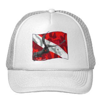 freediving copy trucker hat