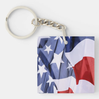 Freedom American Flag 2-Sided Key Chains