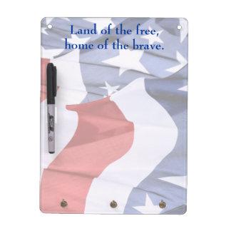 Freedom American Flag Dry Erase Board