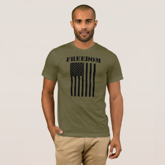 Freedom American Flag T-Shirt