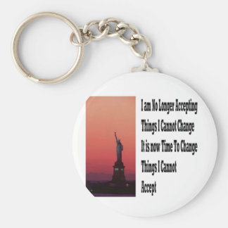Freedom and liberty key chains
