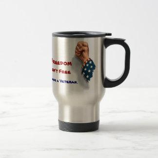 Freedom and Veterans Patriotic Mug