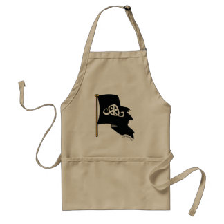 Freedom apron (Pirate flag ; ) Aprons