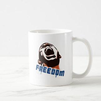 Freedom Basic White Mug