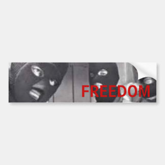 Freedom Bumper Sticker