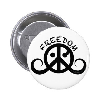 "Freedom button 2 25"" button"