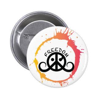 Freedom button round 2 25 sunny splash buttons