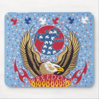 Freedom by Metin Mouse Pad