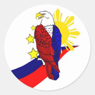 Freedom! Classic Round Sticker