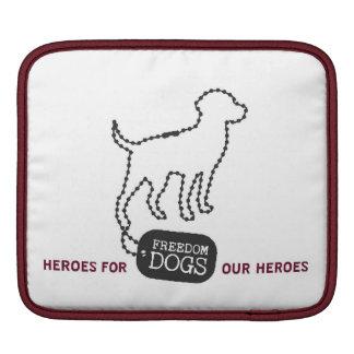 Freedom Dogs iPad cover Sleeve For iPads