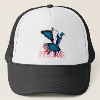 Freedom Dove Trucker Hat