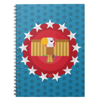 Freedom Eagle (Blue) - Notebook