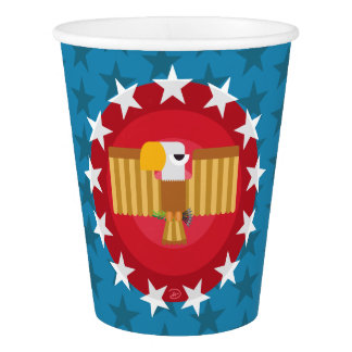 Freedom Eagle (Blue) - Paper Cup