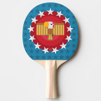Freedom Eagle (Blue) - Ping Pong Paddle