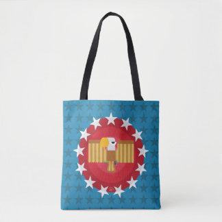 Freedom Eagle (Blue) - Tote Bag